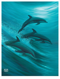 WYLAND - Faster, Higher, Stronger - Offset Litho - 19.5 x 27 inches