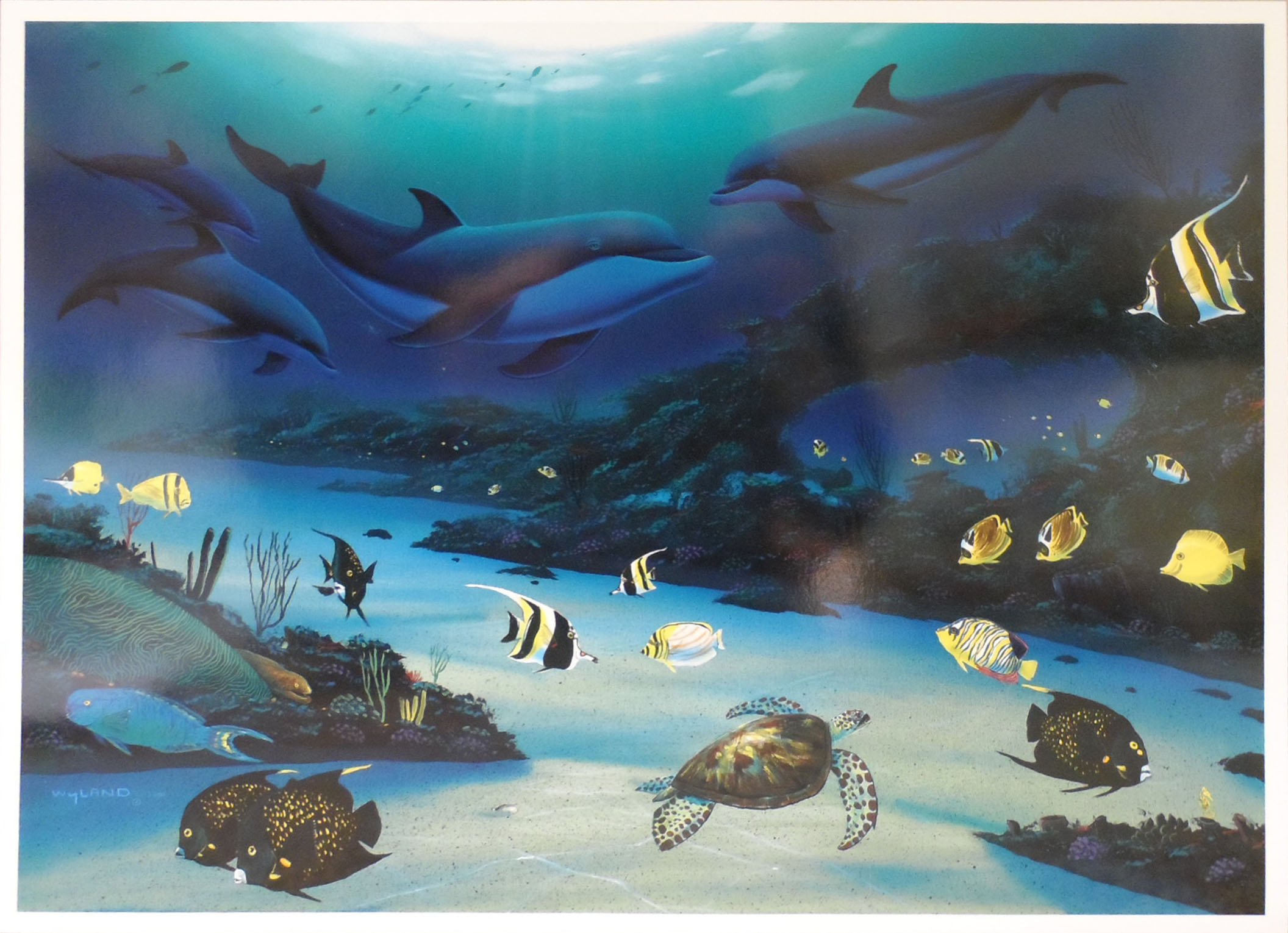 WYLAND - Paradise - Print - 11x14 inches