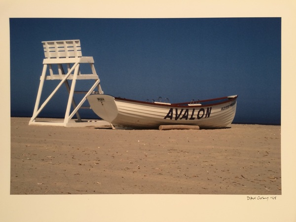 DAVE COSKEY - Avalon Boat - Giclee on Paper - 10 x 14 inches