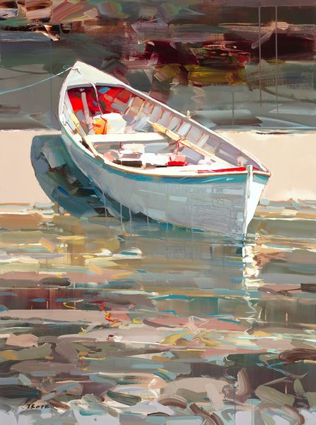 JOSEF KOTE - Almost There - Acrylic on Canvas - 36 x 48 inches
