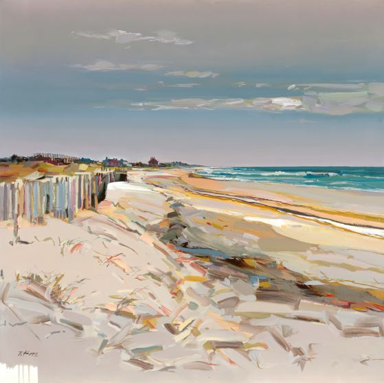 JOSEF KOTE -  Stone Harbor Sunshine - Acrylic on Canvas - 48x48 inches