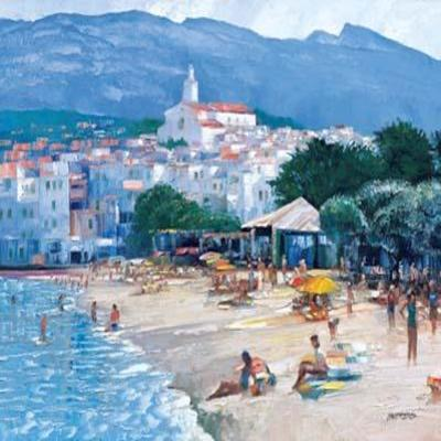 HOWARD PRINT BEHRENS - Along the Costa Brava
