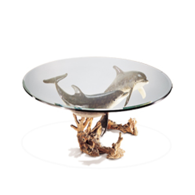 Title: Reef Visit Table , Medium: Bronze Sculpture/Table