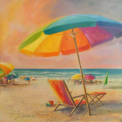 JENNIFER BOWMAN - Big Beach Umbrella
