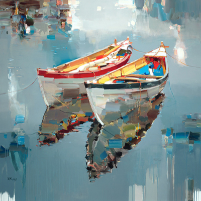JOSEF KOTE - Enchanted Place - Giclee on Canvas - 50x40 inches