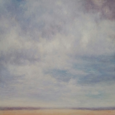 Title: Blue Skies , Size: 36x48 inches , Medium: Oil on Canvas