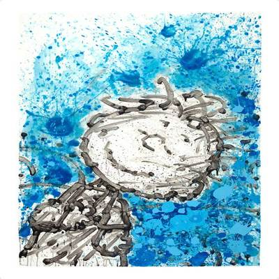 TOM EVERHART - Samo Dreams - Giclee & Silkscreen on Paper - 42x28.5 inche