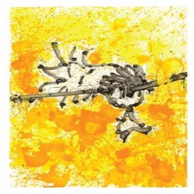TOM EVERHART - Mr. Big Stuff Dreams - Giclee & Silkscreen on Paper - 42x28.5 inche