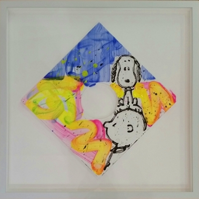 TOM EVERHART - Peep Hole 17 - Original -   inches