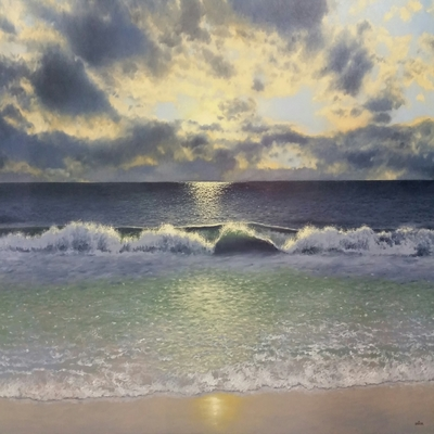 Title: Dawn , Size: 48x60 inches , Medium: Oil on Canvas