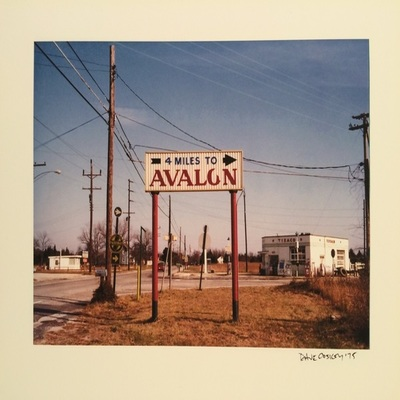 DAVE COSKEY - 4 Miles to Avalon - Giclee on Paper - 6 x 9 inches