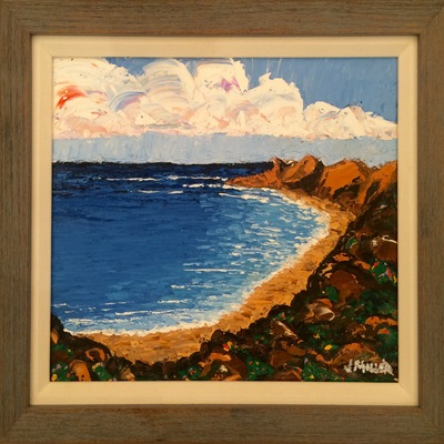 JULIAN MILLER - The Cove - Oil on Canvas