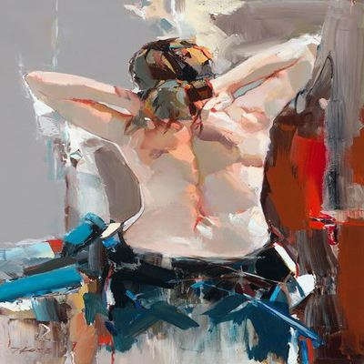 JOSEF KOTE - Mystical Perception - Acrylic on Canvas - 36x24 inches