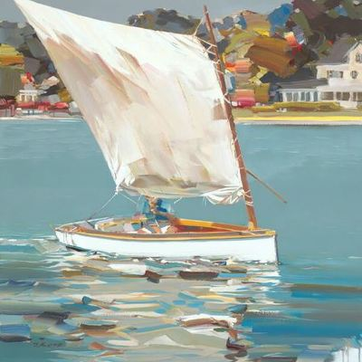 JOSEF KOTE - Real Adventure - Acrylic on Canvas - 36 x 48 inches