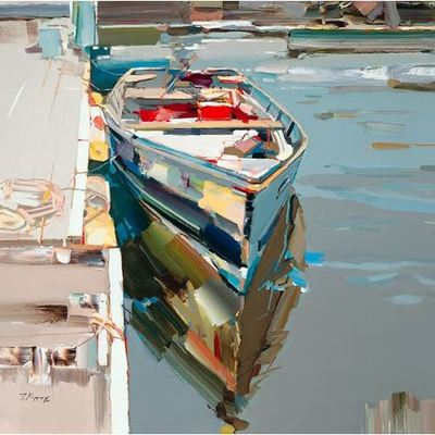 JOSEF KOTE - Sweet Returns - Acrylic on Canvas - 40x40 inches
