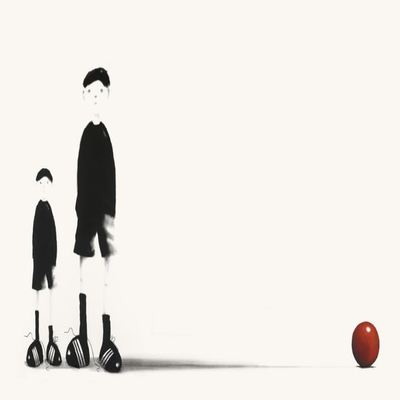 MACKENZIE THORPE - Like Father Like Son - Limited Edition Giclee on Paper - 26x38 inches