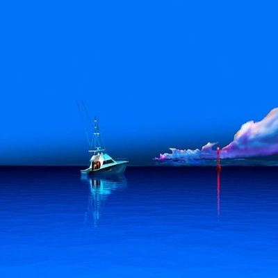 STEPHEN HARLAN - Marquesas - Giclee on Aluminum - 20x50 inches