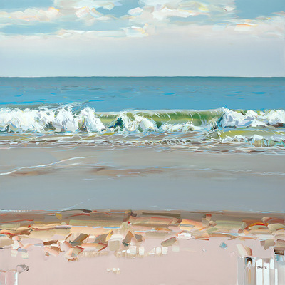 JOSEF KOTE -   Whispering Breeze - Acrylic on Canvas - 48x60 inches