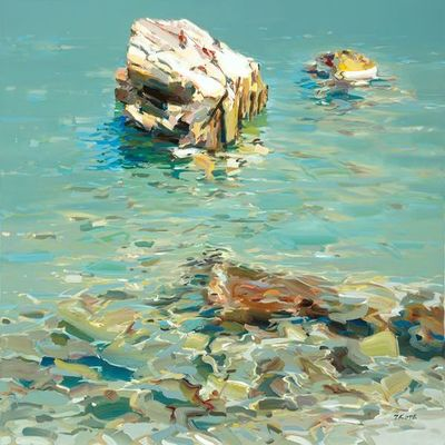 JOSEF KOTE - Sound of Change - Acrylic on Canvas - 36 x 48 inches