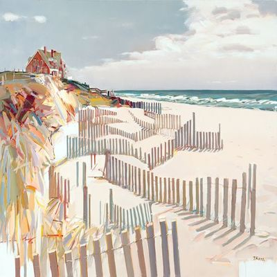 JOSEF KOTE - Summer Is Here - Acrylic on Canvas - 40 x 60 inches