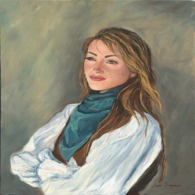 JANE SEYMOUR - Dr. Mike - Giclee on Canvas - 20 x 16 inches