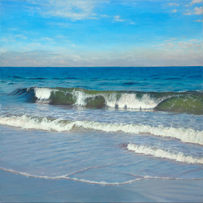 ANTONIA TYZ PEEPLES - Moon Tide - Oil on Canvas - 24x36 inches