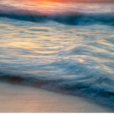 FRED BALLET - Rolling Waves - Photograph on Acrylic - 36 x 24 inches
