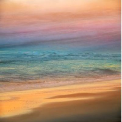 FRED BALLET - Serene Shoreline - Photograph on Acrylic - 30 x 20 inches