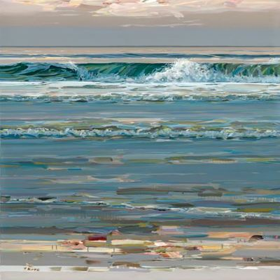JOSEF KOTE -  Sea Change l - Acrylic on Canvas - 48x72 inches