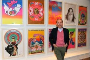 Peter Max In Studio