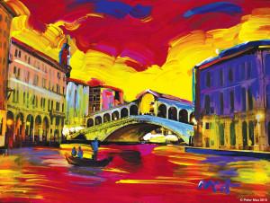 Venice Series II VER I #10 © Peter Max 2015