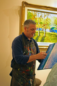 Alexandre Renoir painting at Ocean Galleries