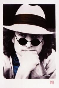 Lennon Nishi Portrait Suite - Blue Wave (From the set of four)