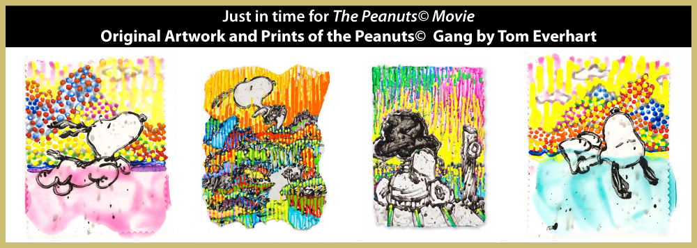 Peanuts Movie - artwork and prints by Tom Everhart