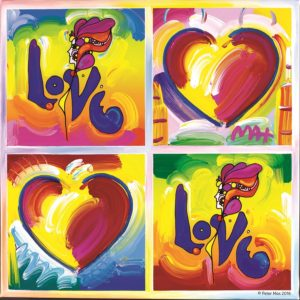 Hearts & Love - 367727 - Copyright Peter Max 2016