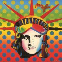 Liberty Head - 324514 - Copyright Peter Max 2016 lr