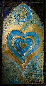 Gothic Heart Panel - Copyright Autumn de Forest