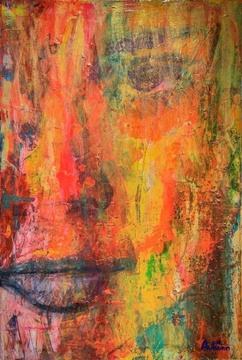Autumn Leaves Oil Paintings