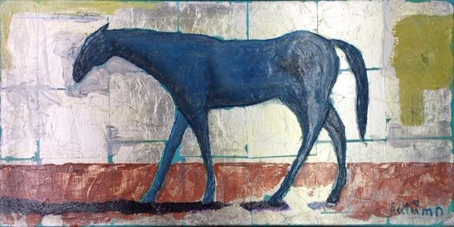 Silver Horse - copyright Autumn de Forest