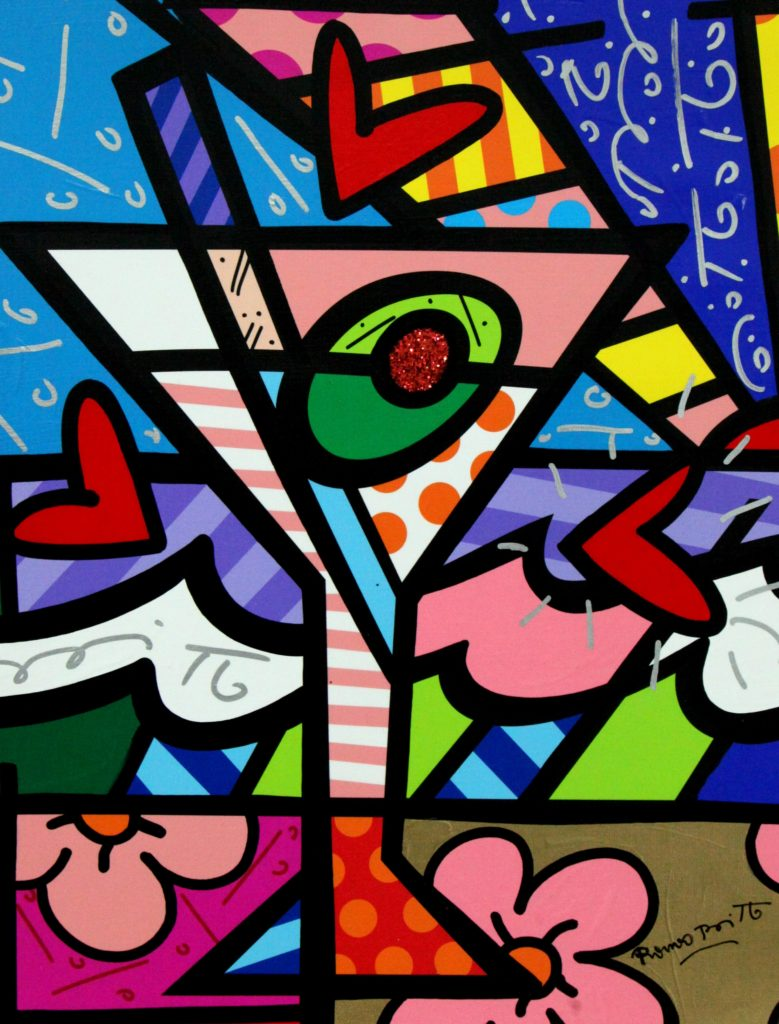 Romero Britto Spreads Message Of Hope And Happiness With