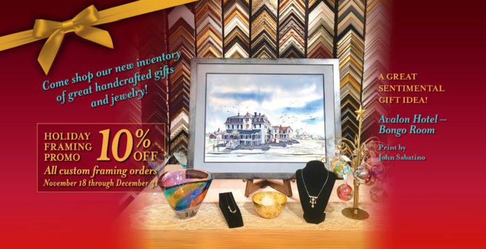 Ocean Galleries Kicks Off Holiday Season With Custom Framing