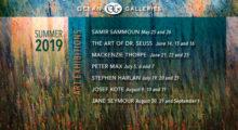 Ocean Galleries Announces 2019 Summer Art Exhibitions