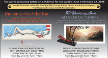June Art Exhibits at Ocean Galleries Raise Money for Cape May County Animal Shelter