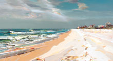 Stunning New Artwork by Josef Kote on Display at Ocean Galleries in Stone Harbor August 9-11